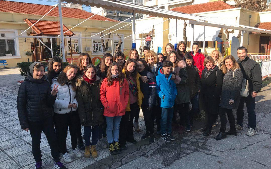 Μουσική γιορτή με τα παιδιά που φιλοξενούνται στον Άγιο Στυλιανό