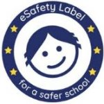 e-safety label school icon